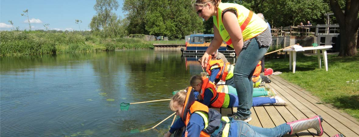 View of Family Activities on the River Stour