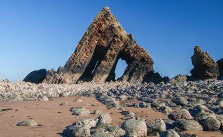 North Devon Coast AONB Blackchurch Rock at Mouthmill (c) Neville Stanikk.jpg