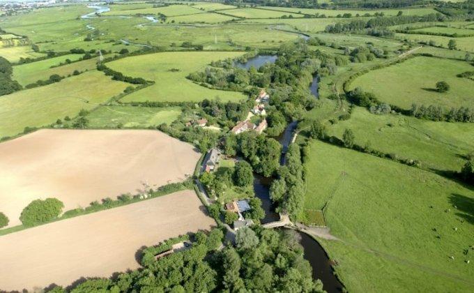 Flatford looking east to Manningtree - Credit: Dedham Vale AONB Partnership