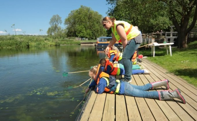 Family activities on the River Stour - Credit: David Taylor, River Stour Trust
